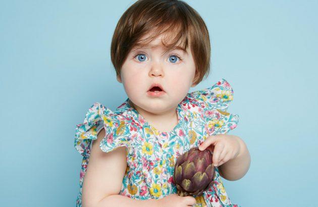 bébé végétarien, végétalien, végan