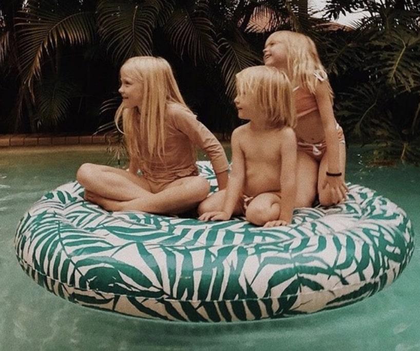 famille en vacance