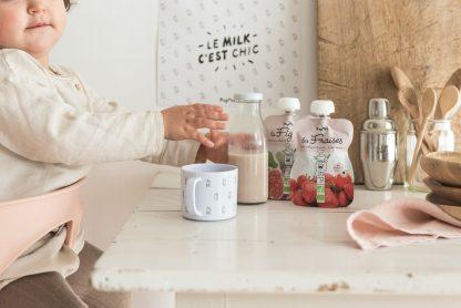 Recettes de milkshake pour bébé dès 6 mois fraise figue