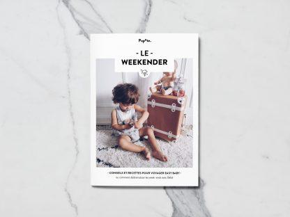 Couverture magazine partir en weekend avec bébé