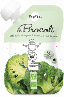 Gourde de purée de brocoli pour bébé bio