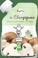 Gourde de purée de champignons pour bébé bio