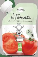 Gourde de purée de tomates pour bébé bio
