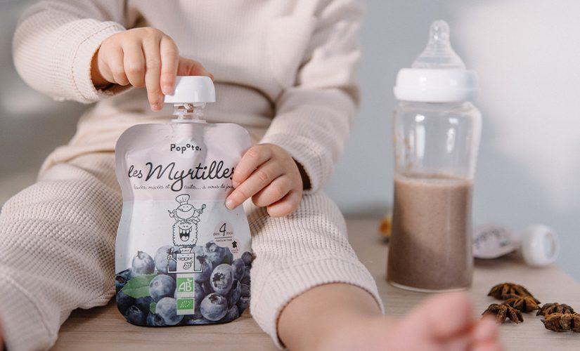 Purée de myrtille pour bébé dès 4 mois