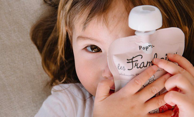Compote de framboise pour bébé